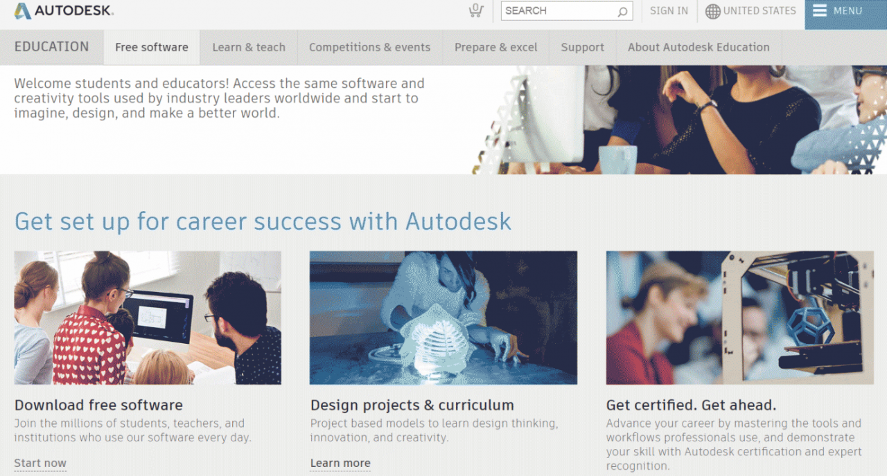 Get set up for career success with Autodesk